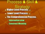 process skill strategy