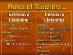 roles of teachers 44