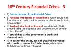 18 th century financial crises 3