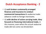 dutch acceptance banking 2