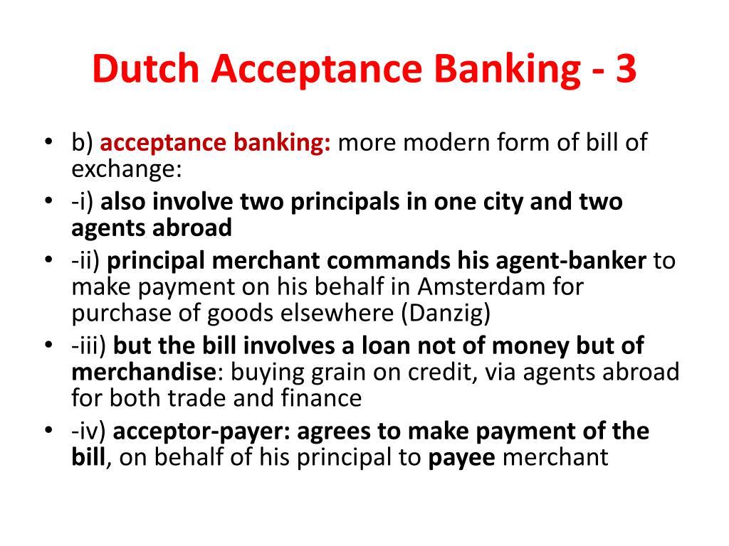 Dutch Acceptance Banking - 3