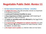 negotiable public debt rentes 11