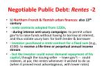 negotiable public debt rentes 2