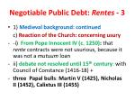 negotiable public debt rentes 3