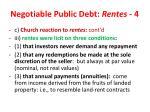 negotiable public debt rentes 4