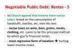 negotiable public debt rentes 5