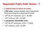 negotiable public debt rentes 7