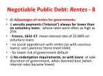 negotiable public debt rentes 8