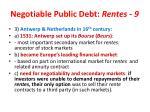negotiable public debt rentes 930