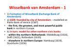 wisselbank van amsterdam 1