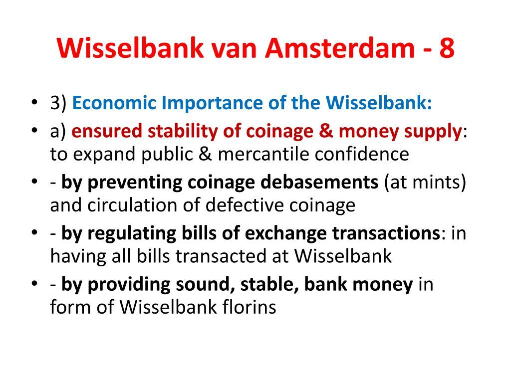 Wisselbank van Amsterdam - 8