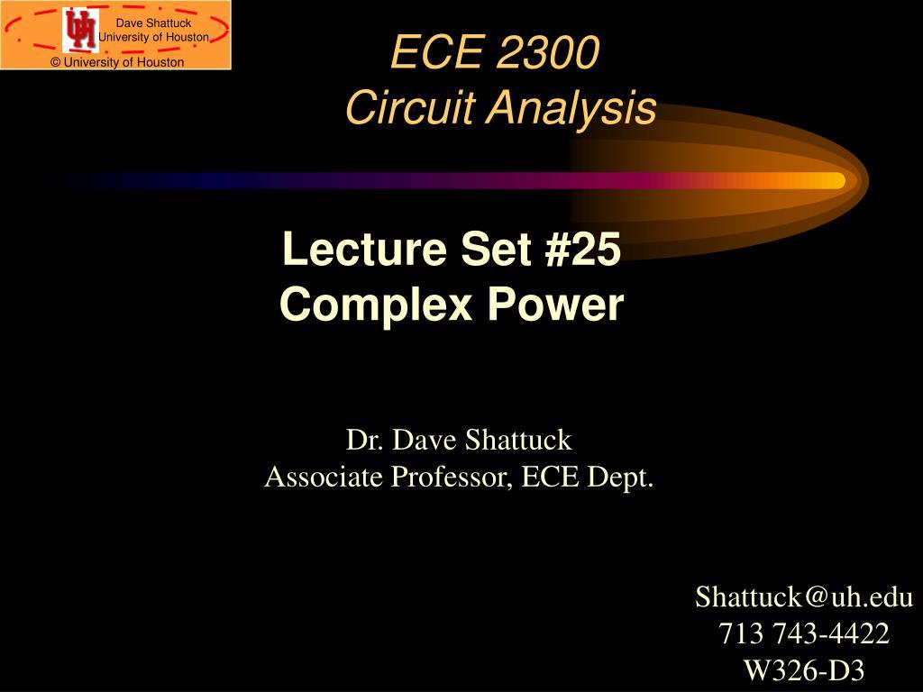 ece 2300 circuit analysis l.