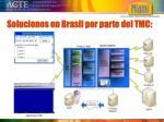 soluciones en brasil por parte del tmc