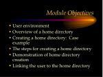 module objectives5