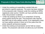 proposals in direct taxes code affecting ngos8
