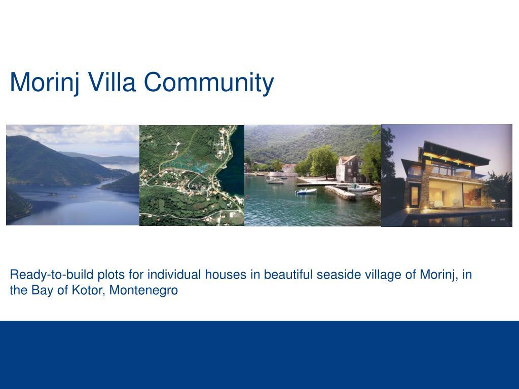 morinj villa community l.