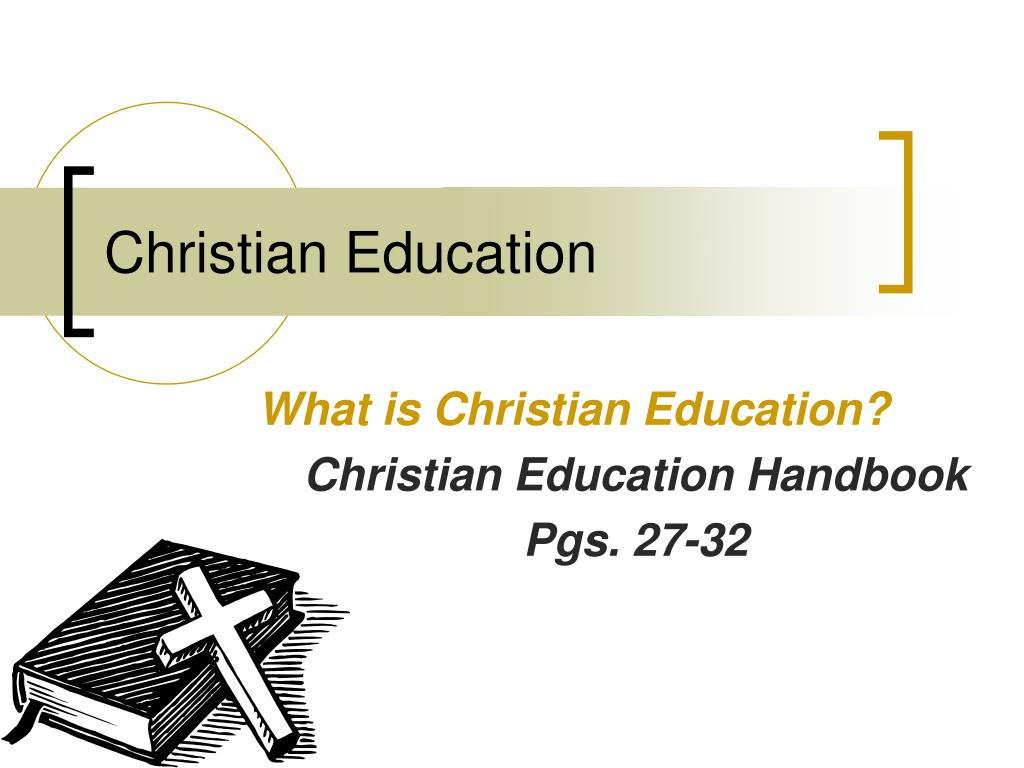 christian education l.