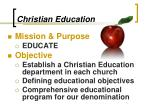 christian education2