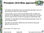 prinzipien anti bias approach