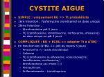 cystite aigue