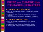prise en charge des lithiases urinaires22