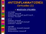 antiinflammatoires cortico des 1