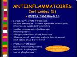 antiinflammatoires cortico des 2