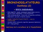 bronchodilatateurs xanthines 2