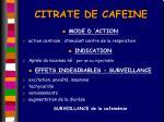 citrate de cafeine