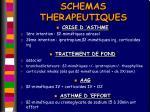 schemas therapeutiques