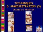 techniques d administration 3