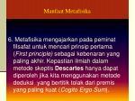 manfaat metafisika1