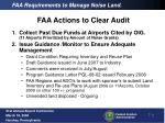 faa requirements to manage noise land2