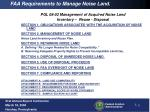 faa requirements to manage noise land3
