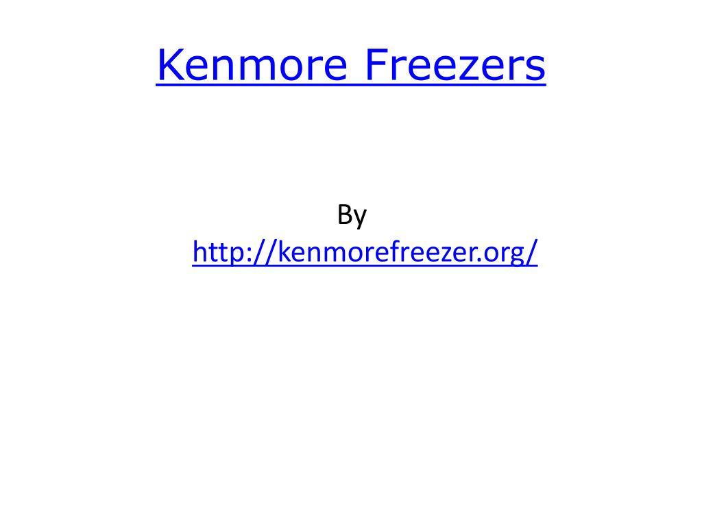 kenmore freezers l.