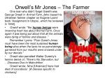 orwell s mr jones the farmer