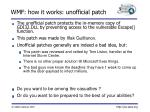 wmf how it works unofficial patch11