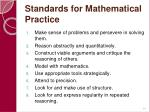 standards for mathematical practice64