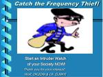 catch the frequency thief