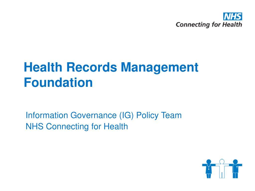 health records management foundation l.
