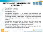 sistema de informaci n contable