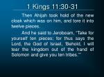 1 kings 11 30 31