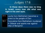 judges 17 6