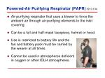 powered air purifying respirator papr