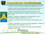 compet ncias constitucionais