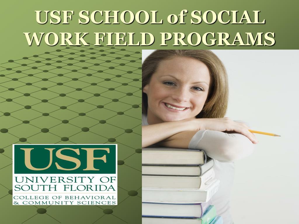 usf school of social work field programs l.