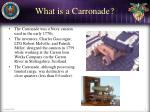 what is a carronade