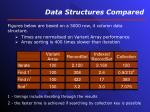 data structures compared