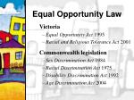 equal opportunity law10