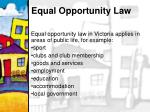 equal opportunity law15